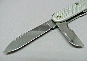 Victorinox 93mm Electrician Swiss Army Knife Old Cross Silver Alox