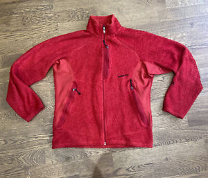PATAGONIA - Red R LABEL Fleece Zip Up Thermal - Small