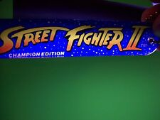 Gottlieb Street Fighter II Orig. NOS Pinball Machine Promo Plastic Keychain 1992