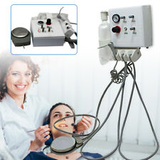 Wall Mouted Portable Dental Turbine Unit Work With Air Compressor 4 Hole Plastic