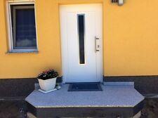 Podestplatte Aussenpodest Hauseingangstreppe Granit Naturstein Trittstufe Stein