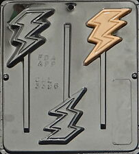 Lightning Bolt Lollipop Chocolate Candy Mold Harry Potter Party  3396 NEW
