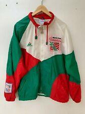 Rare Vintage Team ITALY USMNT Apex 94 World Cup Soccer Jacket 90s 1991 RWB Large