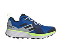 Adidas Men's Size 9 Terrex Two Low Trail Running Shoes Blue Green Gray EH1839