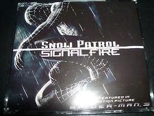 Snow Patrol Signal Fire Rare Australian CD Single Includes 3 Live Tracks