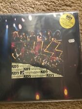 Kiss Unplugged Sealed Lp With Hype First Press Vinyl