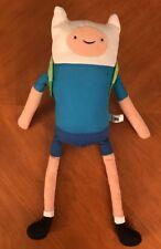 "CN Adventure Time Finn The Human 18"" Plush Doll The Adventurous Backpack Stuffed"