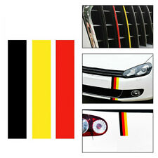 GERMAN GERMANY FLAG DIY Car Window Stripe Sticker Decal For VW BMW Audi Benz