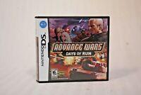 Advance Wars: Days of Ruin (Nintendo DS, 2008) Complete CIB w/ Manual