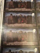 Discworld Stamp Ankh-Morpork Post Office  2011 Sir Terry Pratchett