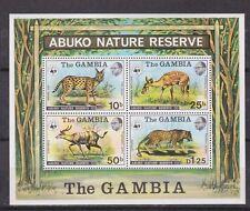 gambia 1976 fauna s/s MNH Sc 344a          l1079