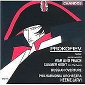 Prokofiev: War and Peace Suite; Summer Night; Russian Overture (1992)