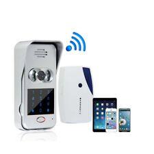 WiFi Wireless Video IR Camera Door Phone Visual Intercom Door Bell Night Version