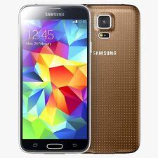 SAMSUNG Galaxy S5 SM-G900F 16GB-RAME GOLD-Sbloccato - 12 mesi di garanzia