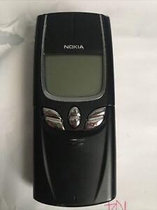 NOKIA 8850 Used Unlocked Rare Vintage Mobile Phone Unique Black