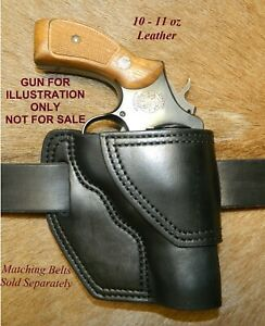 """Gary C's Leather Avenger OWB HOLSTER  Smith & Wesson K Frame  3"""" Revolver"""