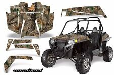 AMR Racing Polaris RZR 900XP Sticker Graphic Kit Decal UTV Parts 11-14 WOODLAND