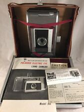 Vintage Polaroid J66 Instant Land Camera with carrying case untested