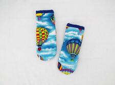 Hot Air Balloons Pattern Pot Handle Holder-Set of 2 Handmade-Pizazz Creations