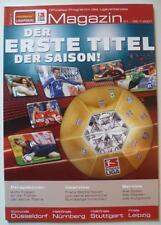 Programm Ligapokal 2007 1. FC Nürnberg Bayern München Schalke KSC Werder VfB
