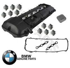 For BMW E36 E39 E46 E53 Valve Cover w/ Gasket & Filler Cap & 11 Nuts KIT Genuine