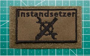 Patch Bundeswehr, Reservisten, Soldat, Instandsetzer