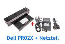 Dell Dockingstation PR02X 2 x USB3.0 + Dell Netzteil 130W für Latitude E6430
