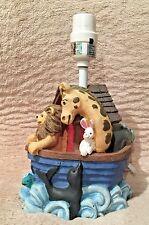 Figi Graphics 1997 Noah'S Ark Nursery Baby Child Bedroom Lamp