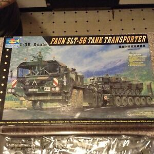 TRUMPETER FAUN SLT-56 TANK TRANSPORTER - MODEL KIT parts sealed 1:35