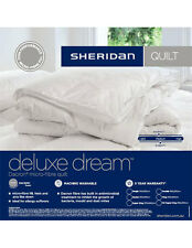 Sheridan Deluxe Dream Dacron Microfibre Quilt Doona Duvet Single Bed Size New