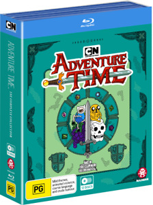 Adventure Time: The Complete Collection - BluRay New And Sealed