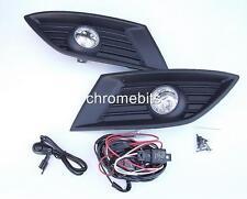 Faros antiniebla luces Parrilla SET para Opel Corsa C 04-06 + Kit de cableado