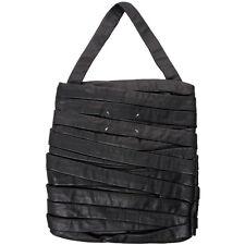 New Rare Maison Martin Margiela Bandage Strip Black Leather Shoulder / Tote Bag