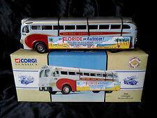 Corgi classic Champlain yellow coach lines 743 1:50 autocar car Vintage bus USA
