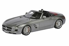 SCHUCO Mercedes-Benz SLS AMG Roadster Monza Grey 1:43 Dealer **Nice**