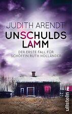 Unschuldslamm von Judith Arendt (2014, Taschenbuch) UNGELESEN