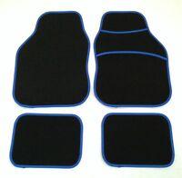 Black & Blue Car Mats For Mg Tf Zr Zs Zt Mgb Mgf