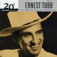 ERNEST TUBB The Best Of Millennium Collection CD NEW 20th Century Masters