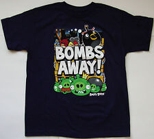 Boys Youth ANGRY BIRDS T shirt size XL