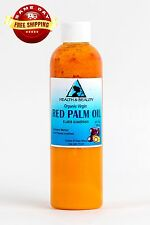 "PALM OIL ""RED"" EXTRA VIRGIN UNREFINED ORGANIC CARRIER COLD PRESSED PURE 4 OZ"