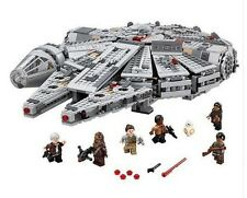 New Millennium Falcon Star Wars Lego Compatible 75105 Sealed With Minifigures