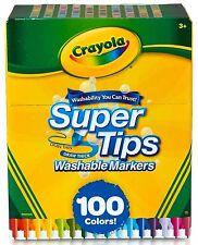 Crayola 100 Count Supertip Markers