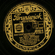 Mills Brothers Rhythm saved the world/SHOE SHINE BOY GOMMA LACCA s6510