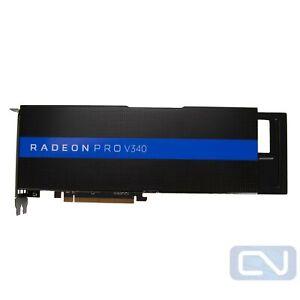 HP 870924-001 AMD Radeon Pro V340 32GB Vega 10 x2 PCIe 3.0 x16