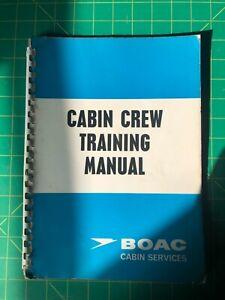 BOAC Cabin Crew Training Manual