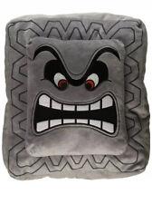 Brand New OFFICIAL NINTENDO Super Mario Bros. Thwomp Cushion/Pillow Toy RARE!!!