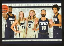 Oral Roberts Golden Eagles--2019-20 Basketball Large Schedule