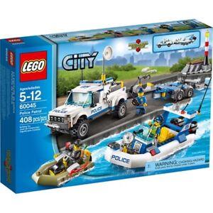 Lego City 60045 Police Patrol  - Brand New & Sealed