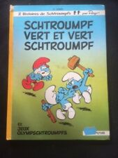 BD SCHTROUMPF VERT ET VERT SCHTROUMPF (1973)  (PEYO)  BD34