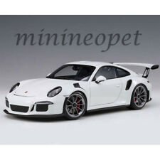 AUTOart 78166 PORSCHE 911 991 GT3 RS 1/18 MODEL WHITE with DARK GREY WHEELS